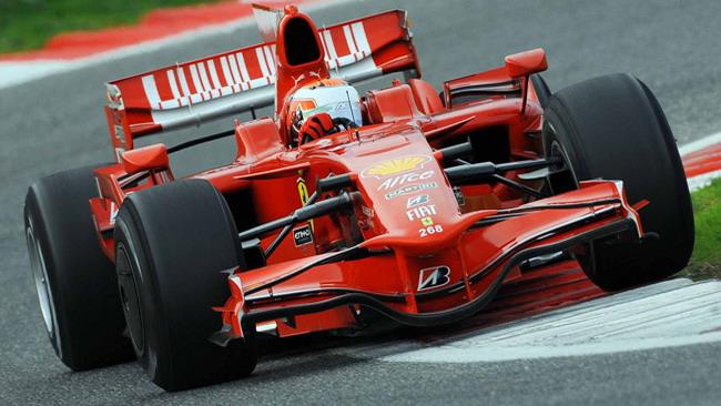 Caldarelli in evidenza nel test con la Ferrari
