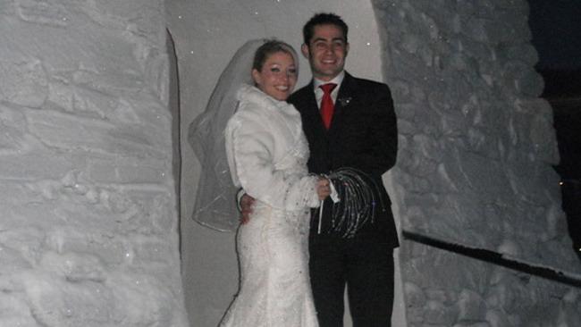 Haslam ha sposato la sua Olivia