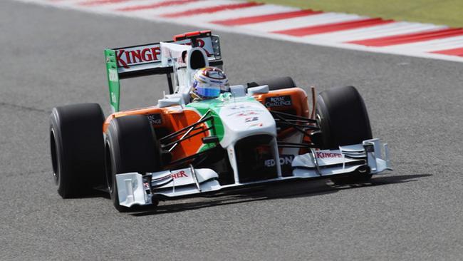 La nuova Force India debutta ai test di Jerez