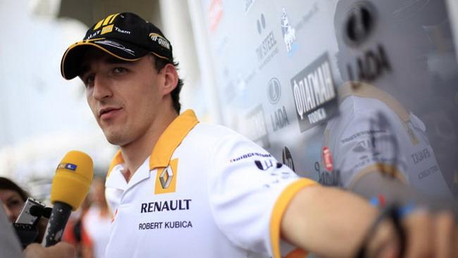Le condizioni di Kubica migliorano ancora