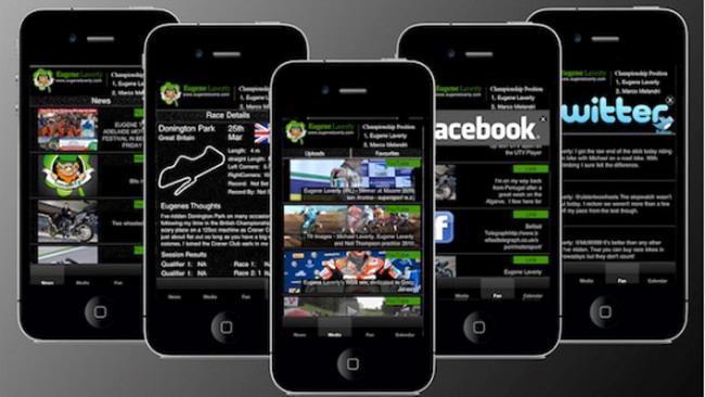 Laverty lancia la sua applicazione per iPhone