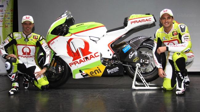 Il Pramac Racing si presenta a Genova