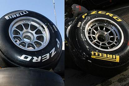 Pirelli indica le mescole colorando il logo