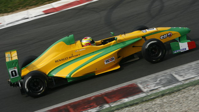 Gibbin battezza la Formula Renault ALPS
