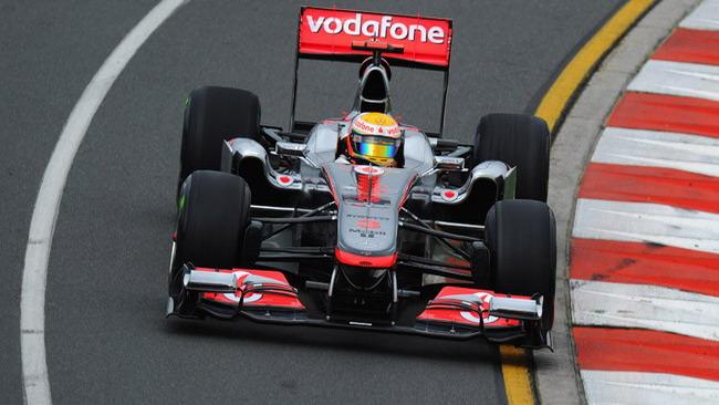 La McLaren a Sepang con l'evoluzione degli scarichi