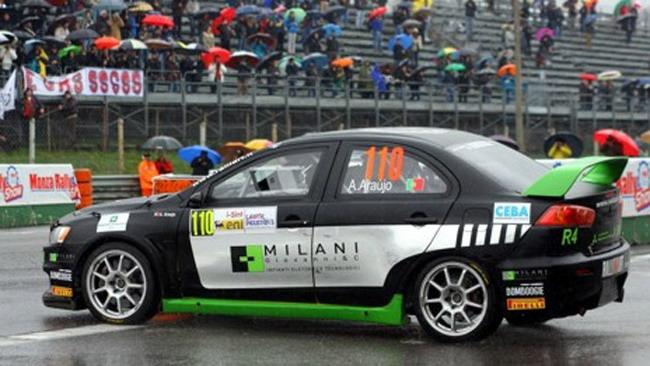 La Mitsubishi Lancer R4 è pronta alla sfida