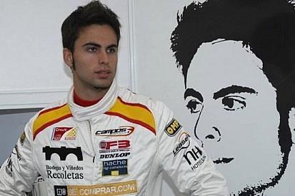 Adrian Campos Jr. con la Campos Racing in Auto Gp