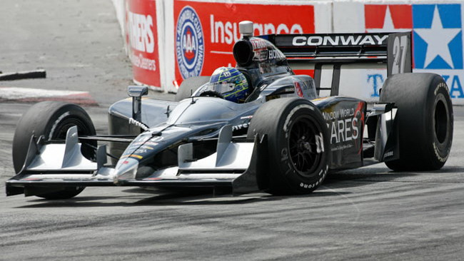 Primo centro in Indycar per Mike Conway!