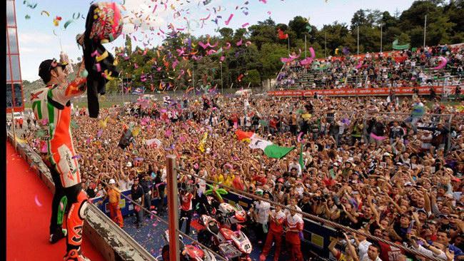 Aprilia porta i suoi tifosi in tribuna a Monza