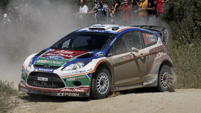 Sardegna, PS11: Hirvonen risale al secondo posto
