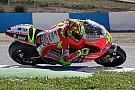 Valentino in pista al Mugello con la Desmosedici GP12