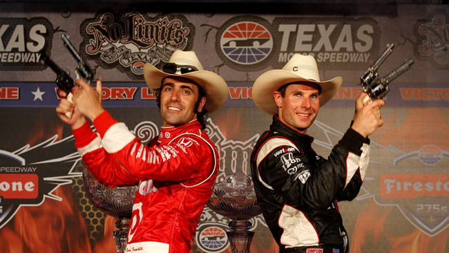 La doppia gara in Texas premia Franchitti e Power