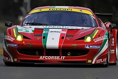 La Ferrari 458 subito seconda all'esordio a Le Mans