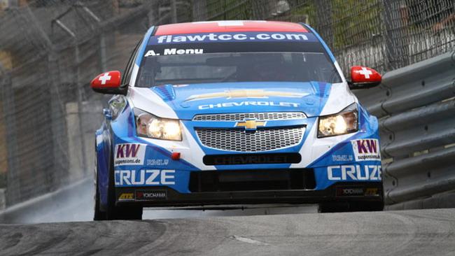 Menù apre la tripletta Chevrolet in gara 1