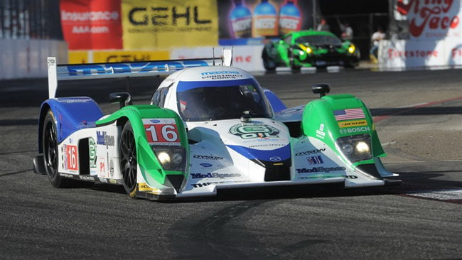 Prima fila tutta Dyson Racing a Lime Rock