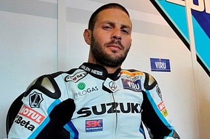 Fabrizio soddisfatto del suo weekend di Brno