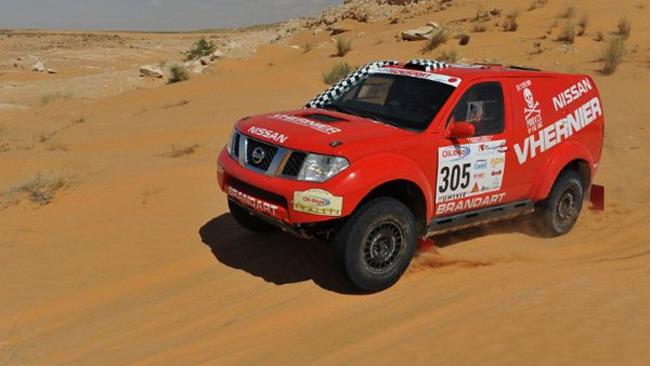 Nissan Tecnosport al via della Baja d'Aragon