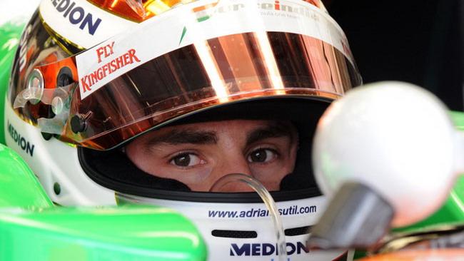 Sutil soddisfatto del sesto posto con Force India