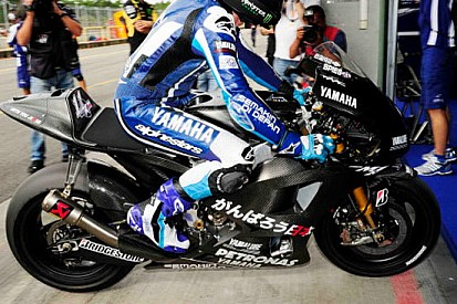 Primi giri con la Yamaha 1000 per Ben Spies