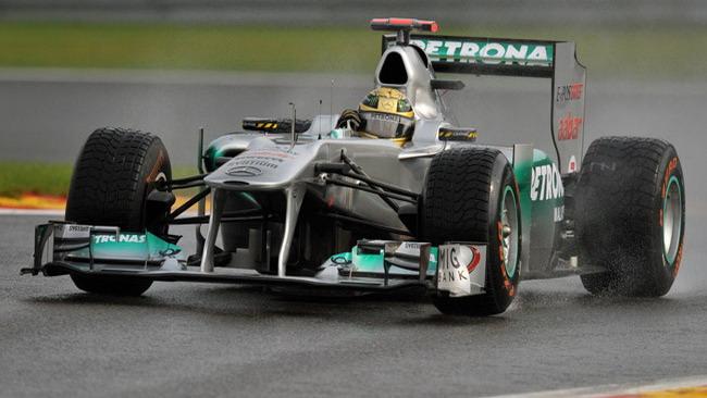 Spa, Libere 1: Schumacher il più veloce sull'asciutto