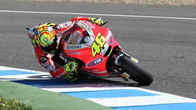Ducati GP12 Evo: oggi tocca a Valentino