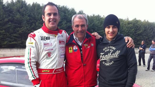 Baldan impaziente di esordire nel Ferrari Challenge