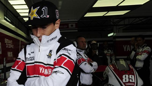 Jorge Lorenzo salta anche i test di Valencia