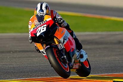 Test Valencia, Day 2: Honda ancora prime della classe