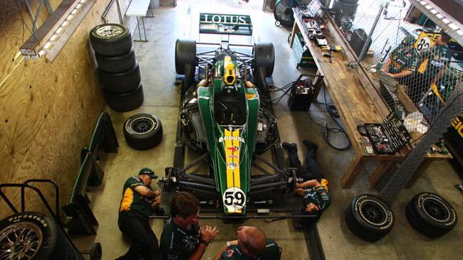 Esordio in pista a metà gennaio per il motore Lotus