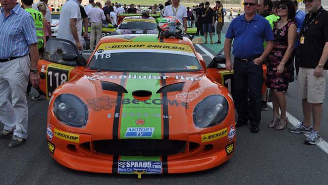 Nova Race sfiora il podio alla 24 Ore di Dubai