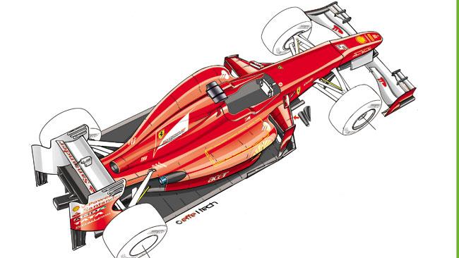 Ecco la Ferrari 2012 con soluzioni rivoluzionarie!