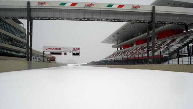 Guardate il Mugello sotto alla neve!