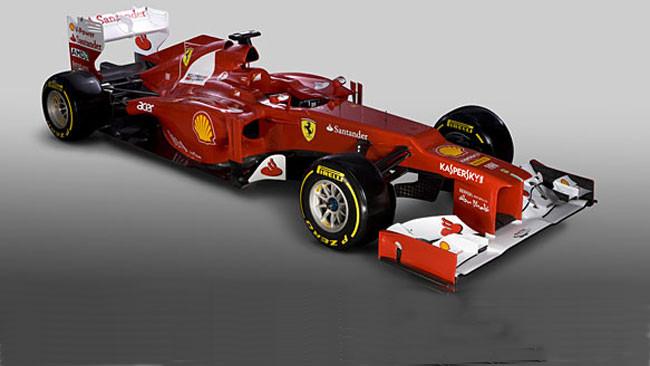 Ferrari F2012: muso a papera e sospensione pull!