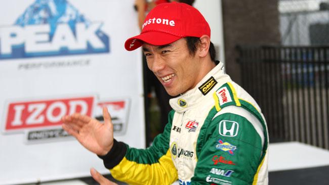 Takuma Sato ha firmato per la Rahal/Letterman