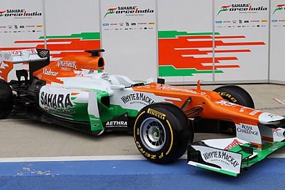 Ecco la Force India VJM05 con il becco