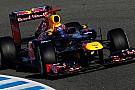 Jerez, Day 1, Ore 12: finalmente in pista la Red Bull