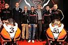 Presentato a Milano l'Aprilia Racing Team