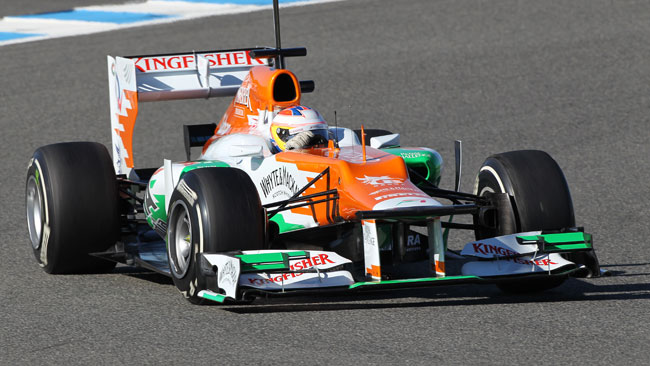 Jerez, Day 2, Ore 15: di Resta si inserisce sesto