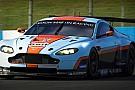 Aston Martin in pista con la Vantage