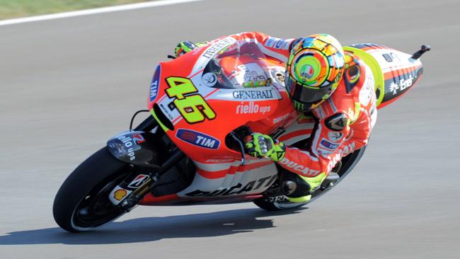 All'asta le Ducati Desmosedici di Stoner e Rossi!