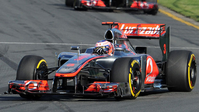 Button domina Melbourne con la McLaren