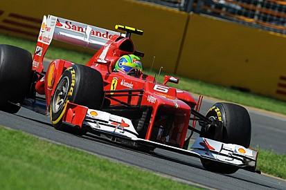 La Ferrari sostituisce il telaio di Massa a Sepang