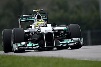 Sepang: Terze libere, colpo di reni di Rosberg