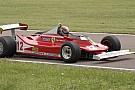 Bertolini realizza un sogno sulla 312 T4 di Villeneuve