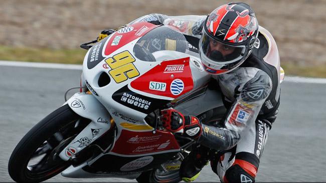 Louis Rossi vola sul bagnato di Le Mans
