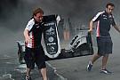 La Williams ha già rimediato ai danni dell'incendio