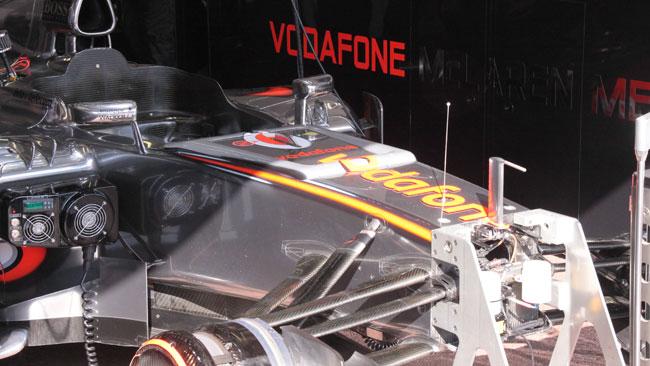 Sulla McLaren prove di visibilità per il 2013