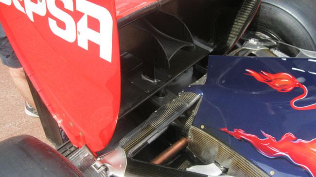 Toro Rosso: c'è il mini flap con il piloncino