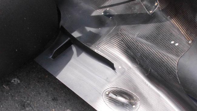 La FIA vieta il buco nel fondo della Red Bull Racing
