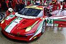 La Ferrari ricorda i terremotati anche a Le Mans